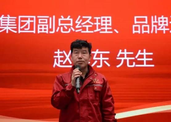 绿佳集团副总经理兼品牌运营总监赵孝东